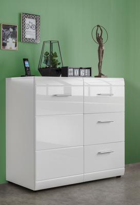 Adelle Chest of Drawers - White
