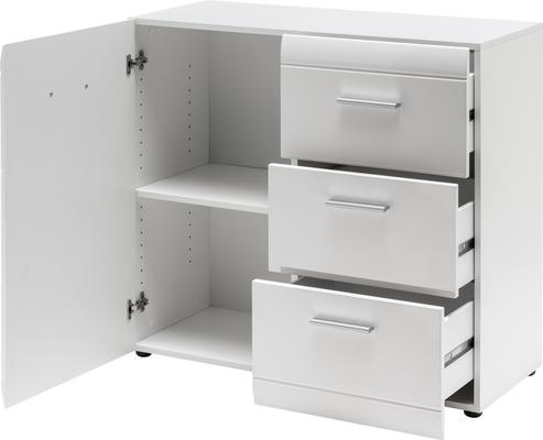 Adelle Chest of Drawers - White image 2