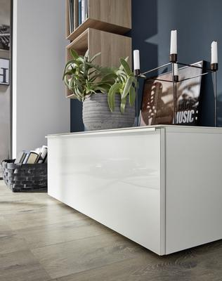 Laura Low Sideboard - White
