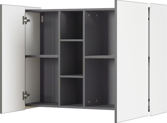 Viktor Wall Unit - White and Graphite Finish image 4