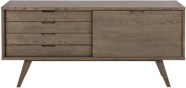 A-Lind 1 door 4 drawer sideboard