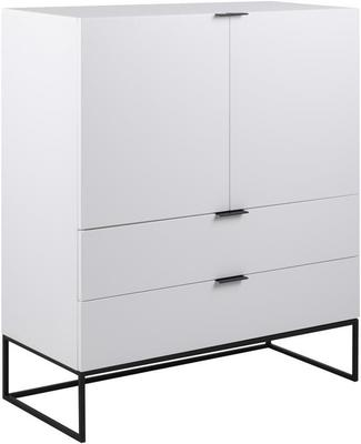 Kiba 2 door 2 drawer cupboard