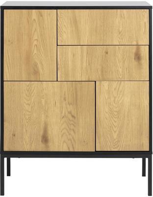 Seafor 3 door 2 drawer cupboard image 2