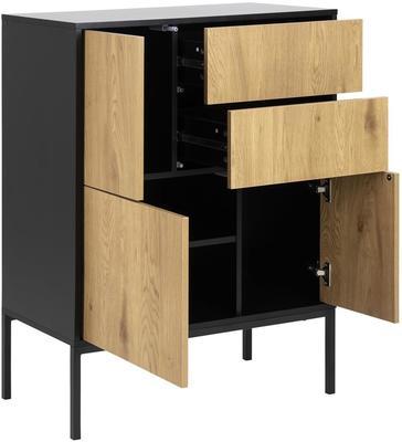 Seafor 3 door 2 drawer cupboard image 3