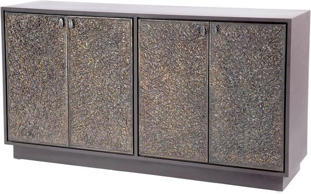 Nala Buffet Cabinet Textured Copper Finish