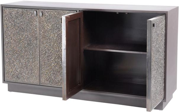 Nala Buffet Cabinet Textured Copper Finish image 2