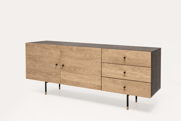 Jugend 2 door 3 drawer sideboard