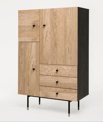 Jugend 3 door 3 drawer cupboard