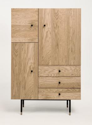 Jugend 3 door 3 drawer cupboard image 3