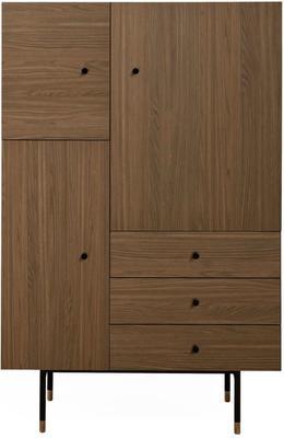 Jugend 3 door 3 drawer cupboard image 4