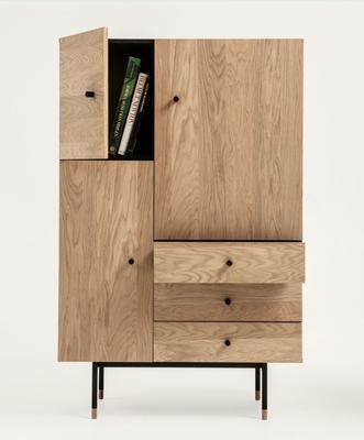 Jugend 3 door 3 drawer cupboard image 5