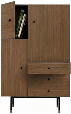 Jugend 3 door 3 drawer cupboard image 6