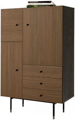 Jugend 3 door 3 drawer cupboard image 8