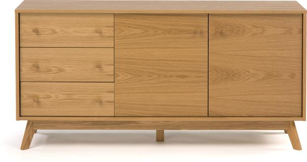 Letvi 2 door 3 drawer sideboard