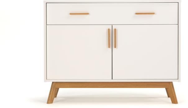 Letvi Nordic 2 door 1 drawer sideboard