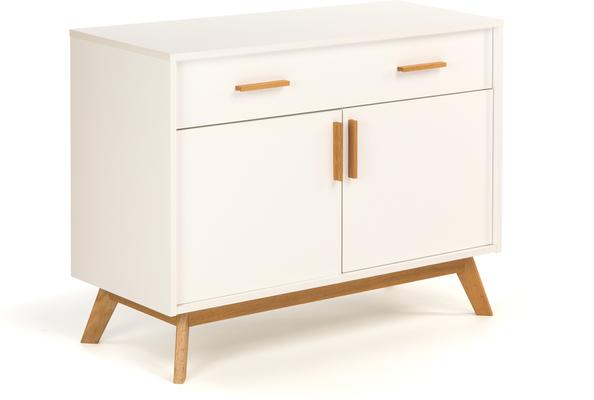 Letvi Nordic 2 door 1 drawer sideboard image 2