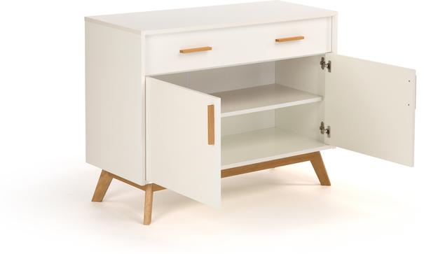Letvi Nordic 2 door 1 drawer sideboard image 3