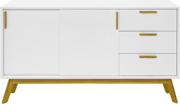 Letvi Nordic 2 door 3 drawer sideboard