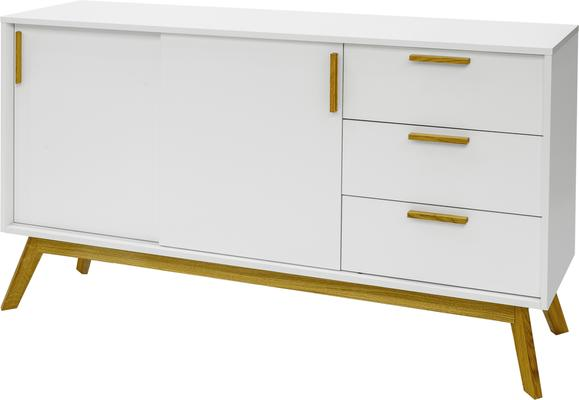 Letvi Nordic 2 door 3 drawer sideboard image 2