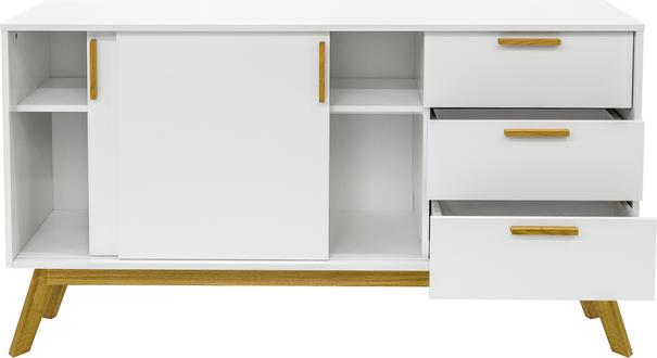 Letvi Nordic 2 door 3 drawer sideboard image 3