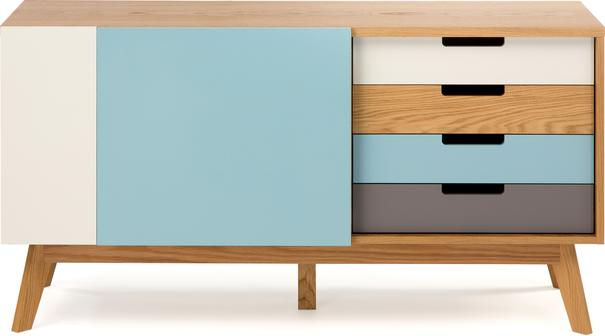 Chaser 2 door 3 drawer sideboard