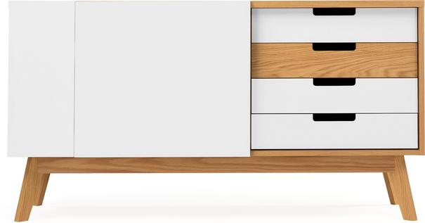 Chaser 2 door 3 drawer sideboard image 2