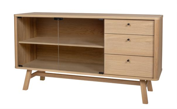 Skagen 2 door 3 drawer sideboard image 4