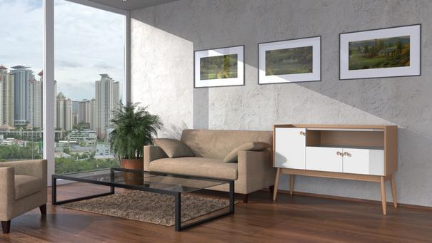 Farsta 3 door sideboard image 7