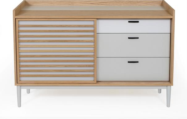 Lugo 1 door 3 drawer sideboard