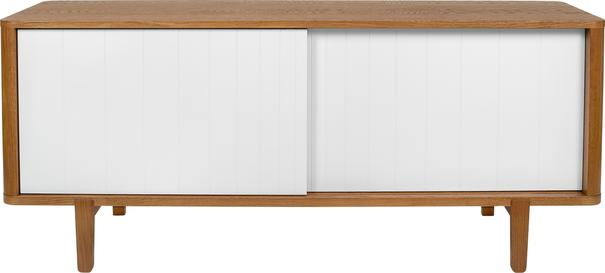 Sumire low 2 sliding door sideboard