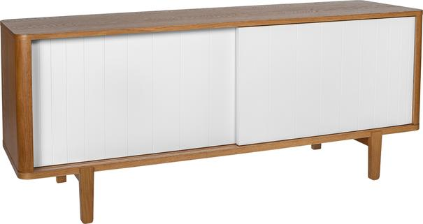 Sumire low 2 sliding door sideboard image 2