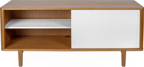 Sumire low 2 sliding door sideboard image 3