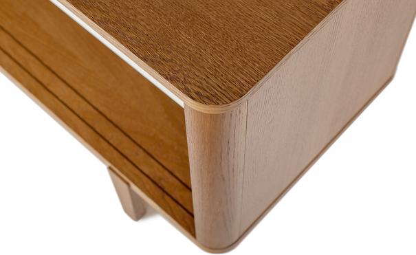 Sumire low 2 sliding door sideboard image 7