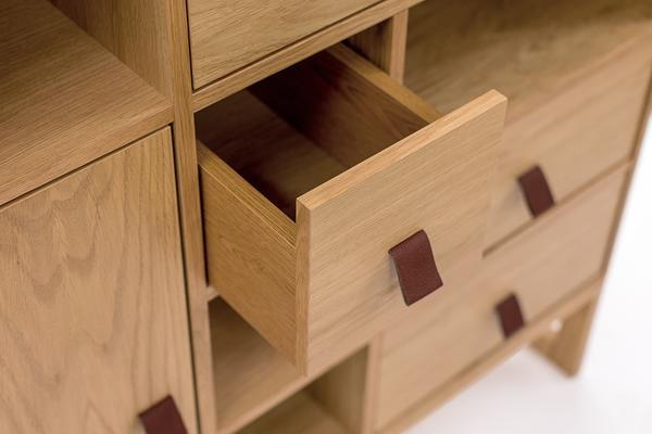 Slussen 1 door 5 drawer cupboard image 5