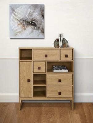 Slussen 1 door 5 drawer cupboard image 8