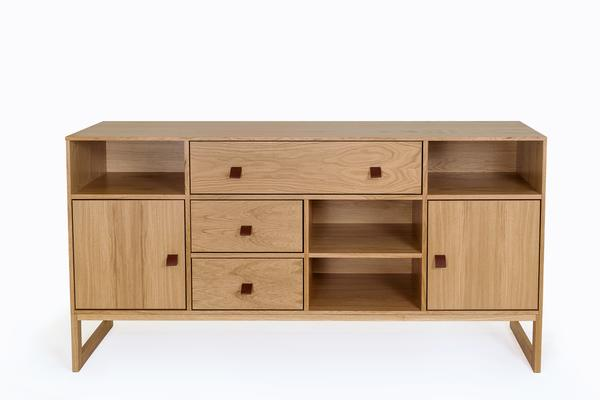 Slussen 2 door 3 drawer sideboard