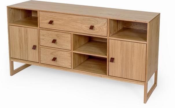 Slussen 2 door 3 drawer sideboard image 2