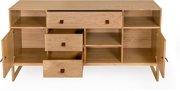 Slussen 2 door 3 drawer sideboard image 3