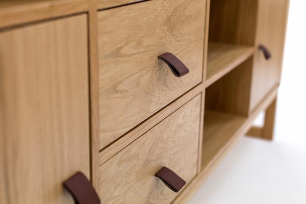 Slussen 2 door 3 drawer sideboard image 4