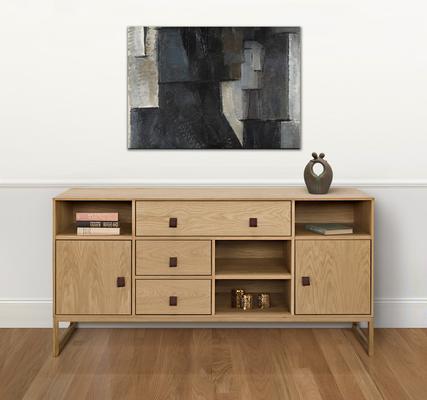 Slussen 2 door 3 drawer sideboard image 7