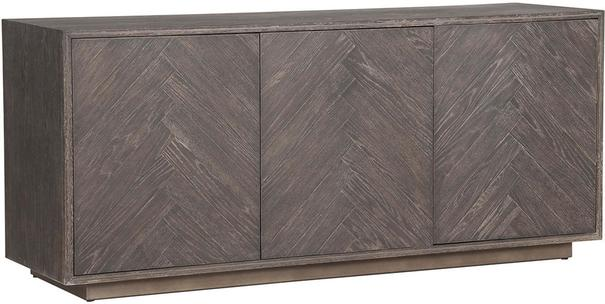 Kinvara 3 Door Sideboard Dark Aged Oak