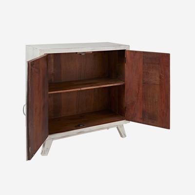 Nova Beach Style White Rustic Cabinet image 3