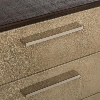 Latham Taupe Shagreen Sideboard 2 Door 6 Drawer image 4