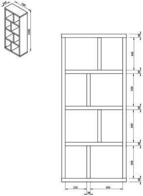 Berlin narrow display unit image 24