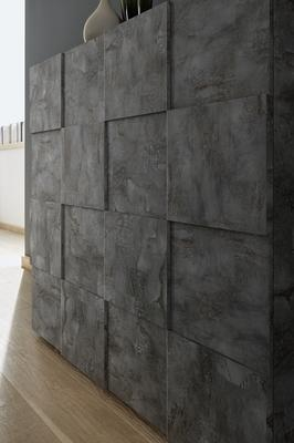 Treviso Two Door High Sideboard - Anthracite Finish image 3