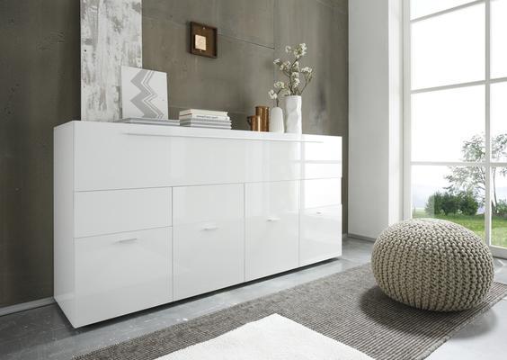 Ferrara  Large Sideboard - Gloss White