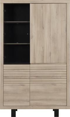 Clay Four Door Display Unit - Light Natural Oak Finish image 2