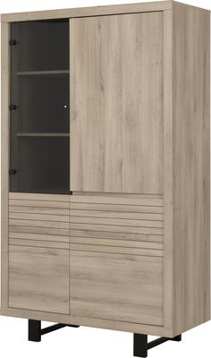Clay Four Door Display Unit - Light Natural Oak Finish image 3