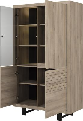 Clay Four Door Display Unit - Light Natural Oak Finish image 4
