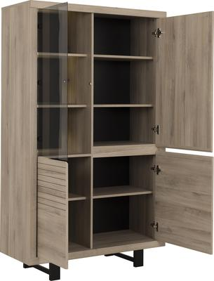 Clay Four Door Display Unit - Light Natural Oak Finish image 5